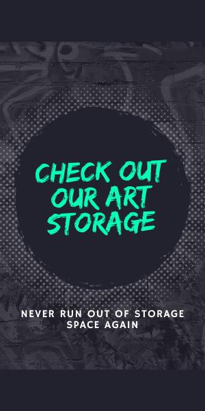 needing art storage