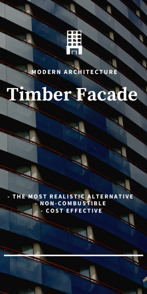 Timber Facade timber battens